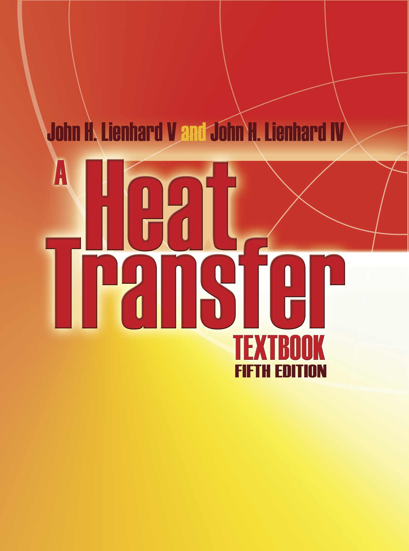Cover of A Heat Transfer Textbook, 5th edition